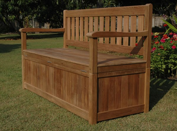 Garden Storage Bench Bench Box With Large Storage