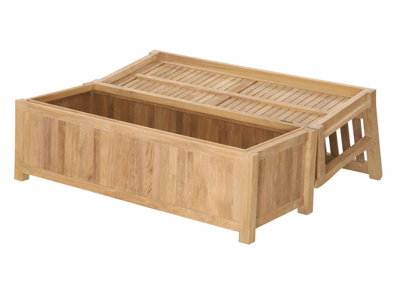 Garden Storage Bench - Bench Box with Large Storage Compartment
