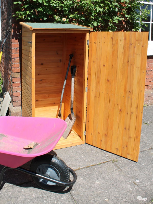 small tool shed express garden storage