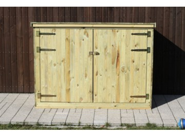 FSC Certified 1.8m Bike Shed