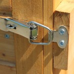 Tool Shed Locking Hinge